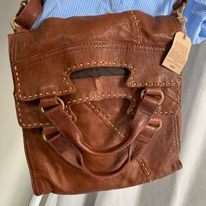 Lucky Brand Leather Bag NWOT